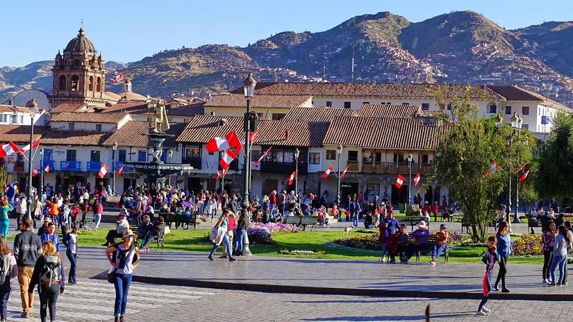 J2- Arrivée à Cusco, visite de laville