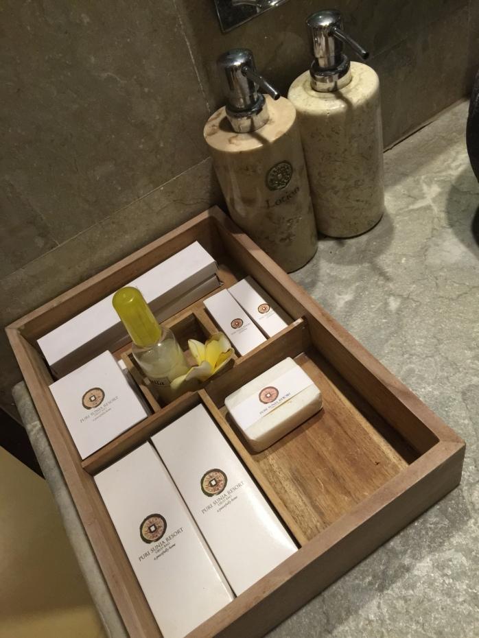 Salle de bain, les produits