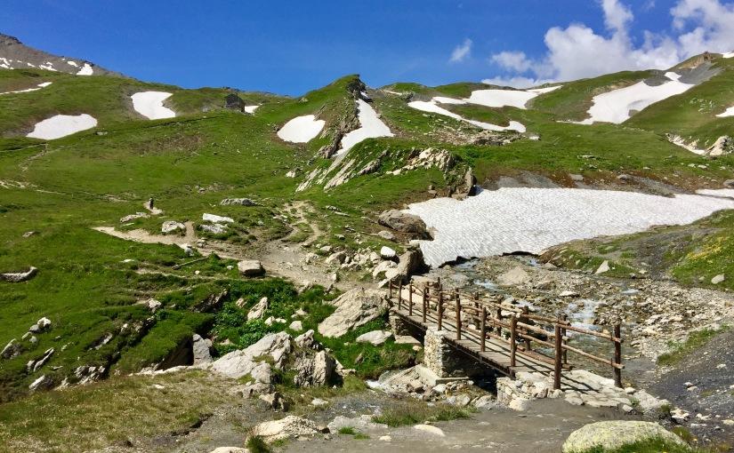 Courmayeur – col de la Seigne – vallée des Glaciers – LesChapieux