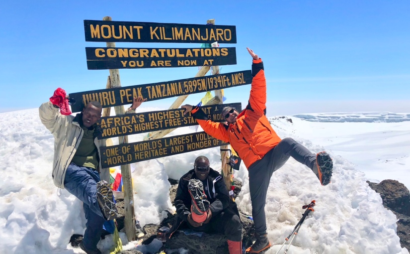 TANZANIE- Kilimandjaro – J7 Camp Barafu – Stella Point – Uhuru PeakD+1145