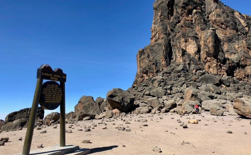 TANZANIE – Kilimandjaro- J5 Moir Camp – Lava Tower – Barranco D+486m