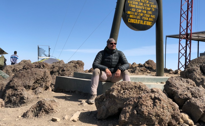 TANZANIE – Kilimandjaro- J6 Barranco Camp – Camp Barafu – D+735m